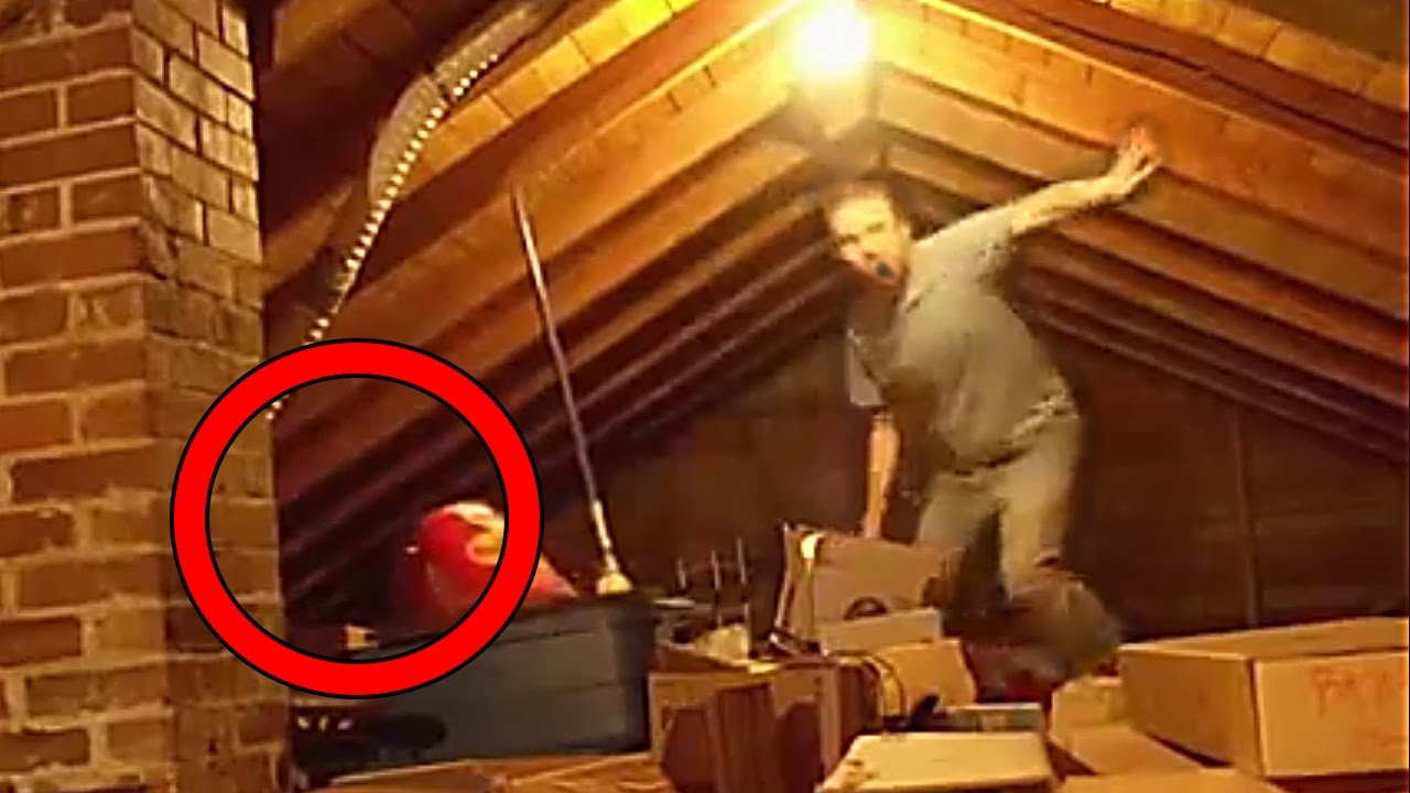 paranormal witness man in the attic photo