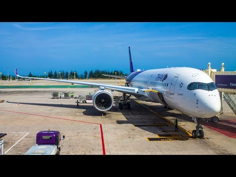 AIRBUS A350 FULL FLIGHT | Bangkok – Phuket | Thai Airways