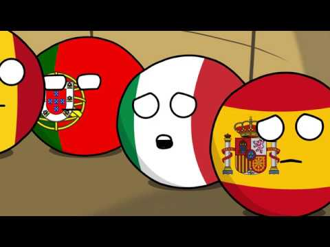 Countryball Animation Air Balloon Adventure YouTube