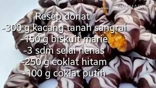 Resep Donat 4 bahan no tepung
