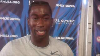 Marquise Dendy on the Crazy Long Jump at the Trials and Finishing 4th but Going to Rio