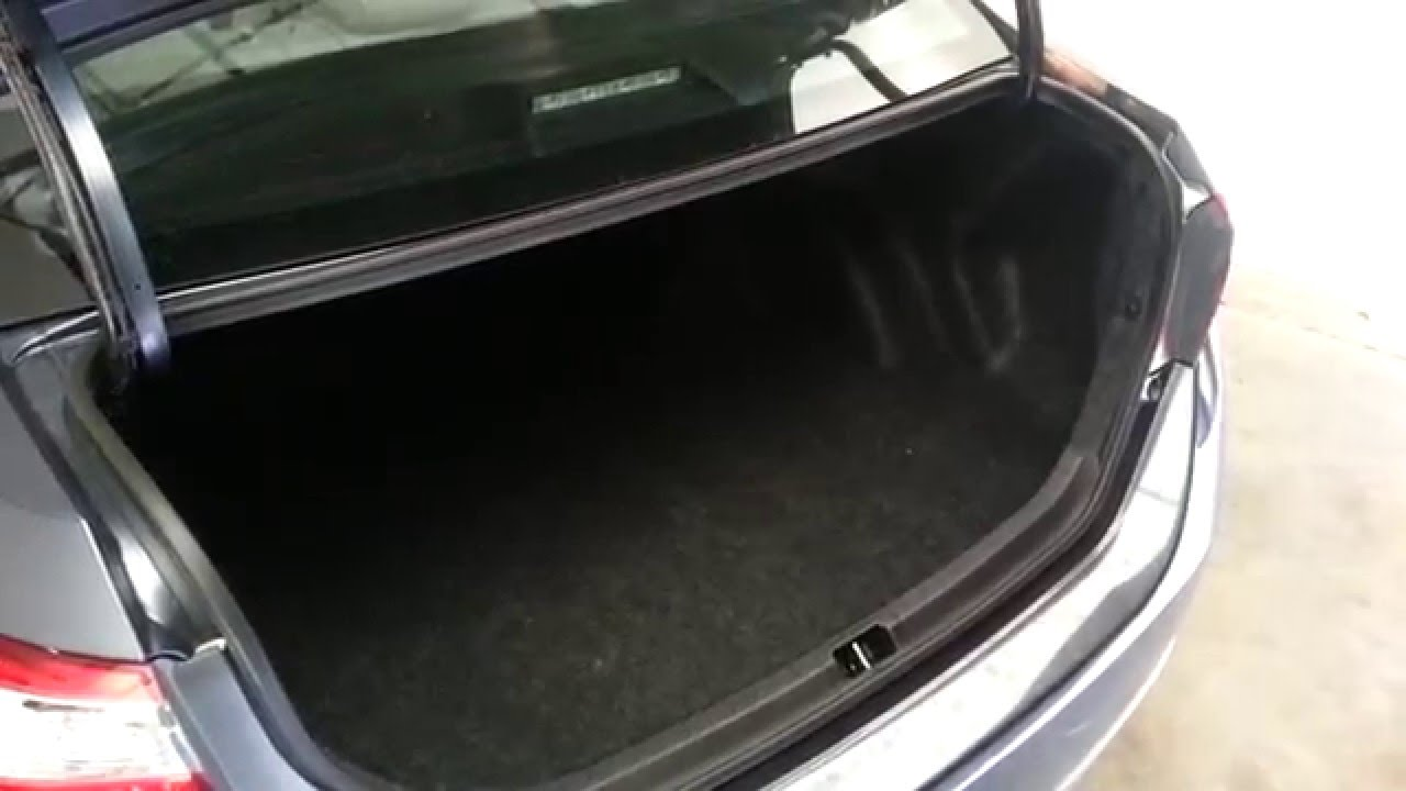 2014 Toyota Corolla Sedan Checking Out Cargo Area Space