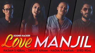 Love Manjil - Salman Shah   Mashup   Hasan S. Iqbal - Dristy Anam - Nadia R Marak - Syed Real