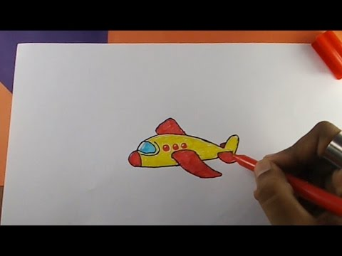 How To Draw Aeroplane Youtube