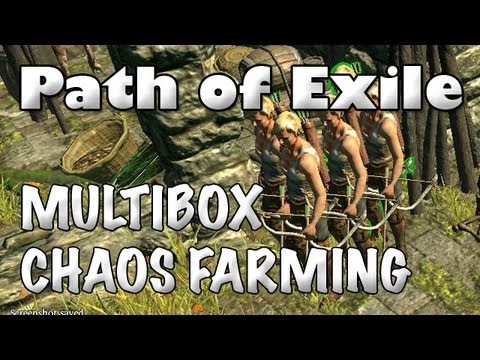 Path of Exile: Multiboxing Chaos Orb & Unique Farming & It's Effects