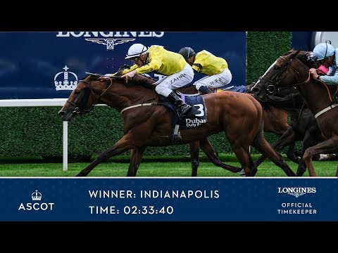 Indianapolis Wins The Dubai Duty Free Shergar Cup Challenge