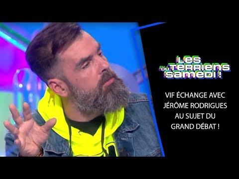 Vif échange avec Jérôme Rodrigues au sujet du grand débat ! - LTS 13/04/19