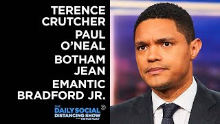 Terence Crutcher, Paul O'Neal, Botham Jean and Emantic Bradford Jr.| The Daily Show