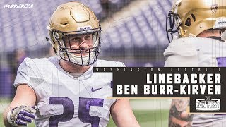 Football: Ben Burr-Kirven Spring Preview Pac-12 Network Interview