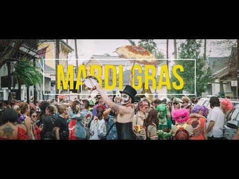 Mardi Gras New Orleans Louisiana 4K