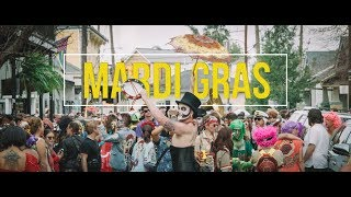 Mardi Gras New Orleans Louisiana 4K