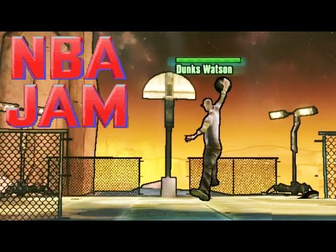 Borderlands The Pre-Sequel - NBA Jam Easter Egg - YouTube