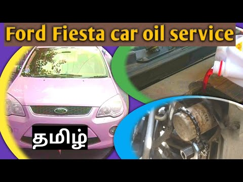 Ford Fiesta Car Oil Service In Tamil