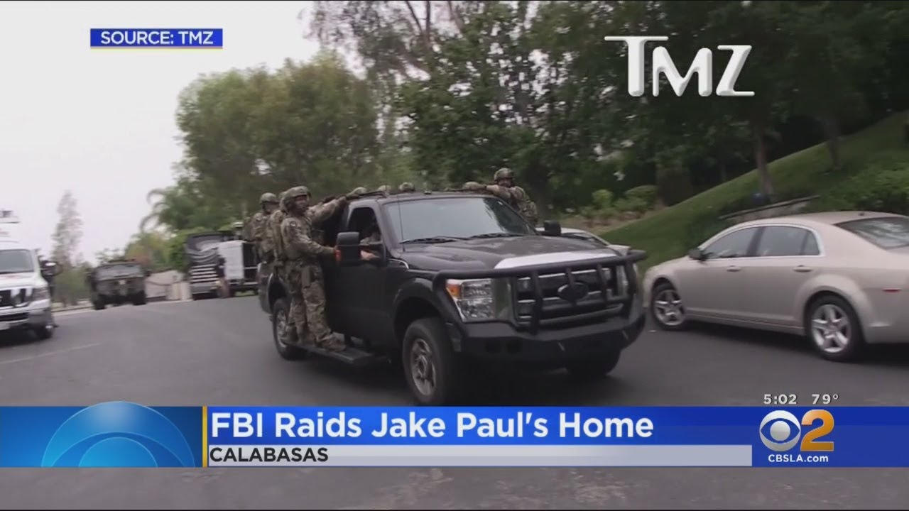 FBI Raids Calabasas Home Of YouTube Star Jake Paul; No Arrests ...