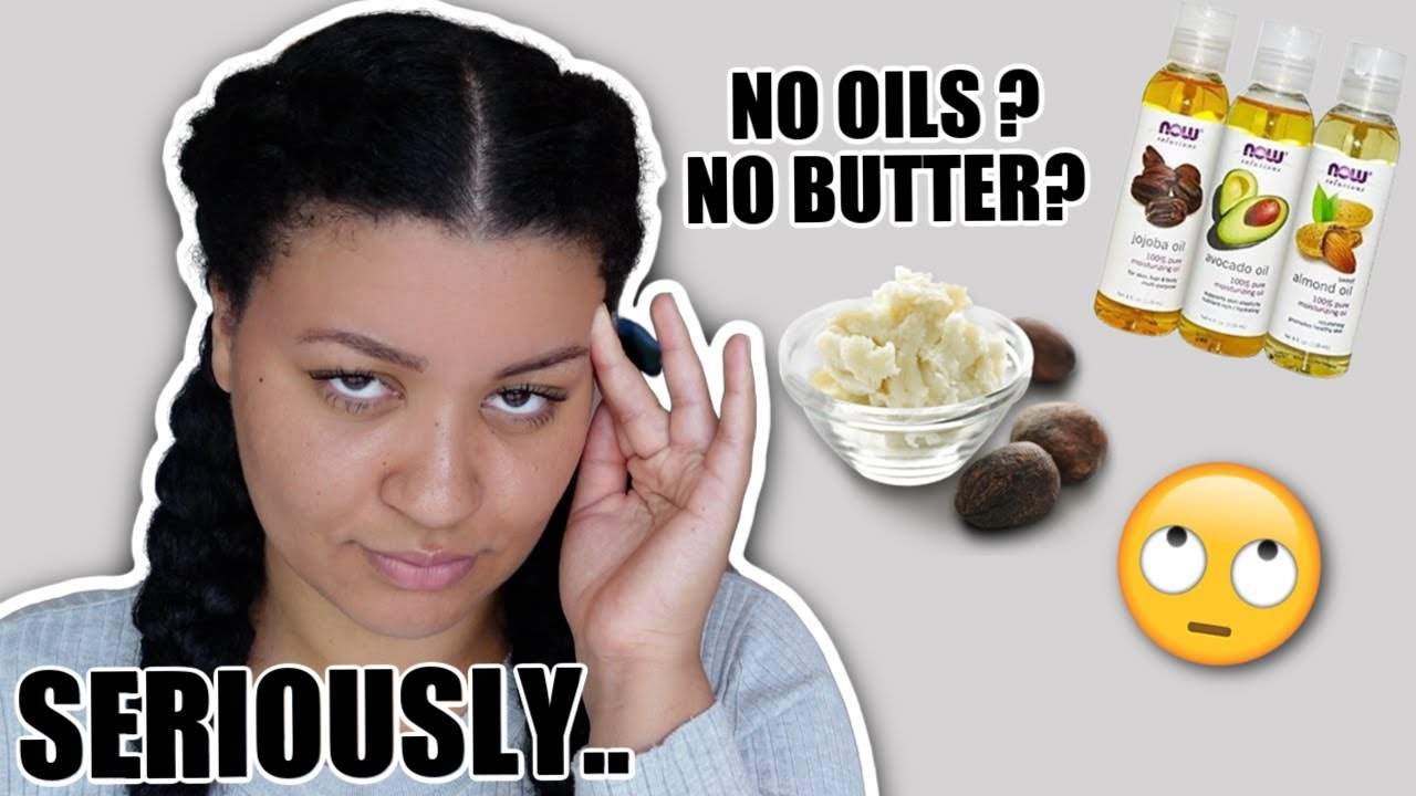 NO OILS & BUTTERS?! 🤔 Addressing the natural hair police
