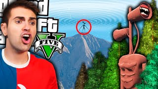 EN ESTE BOSQUE PUEDES ENCONTRAR A SIREN HEAD en GTA 5! *épico* (mods)