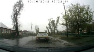 Воронеж, Боровое, ул. 50 лет ВЛКСМ после дождей