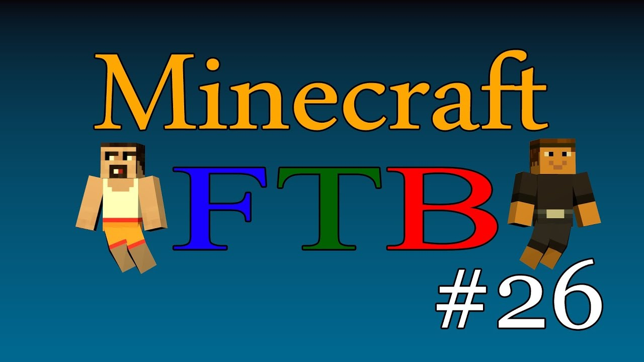 Minecraft FTB - Episode 26 - Industrial Blast Furnace ...