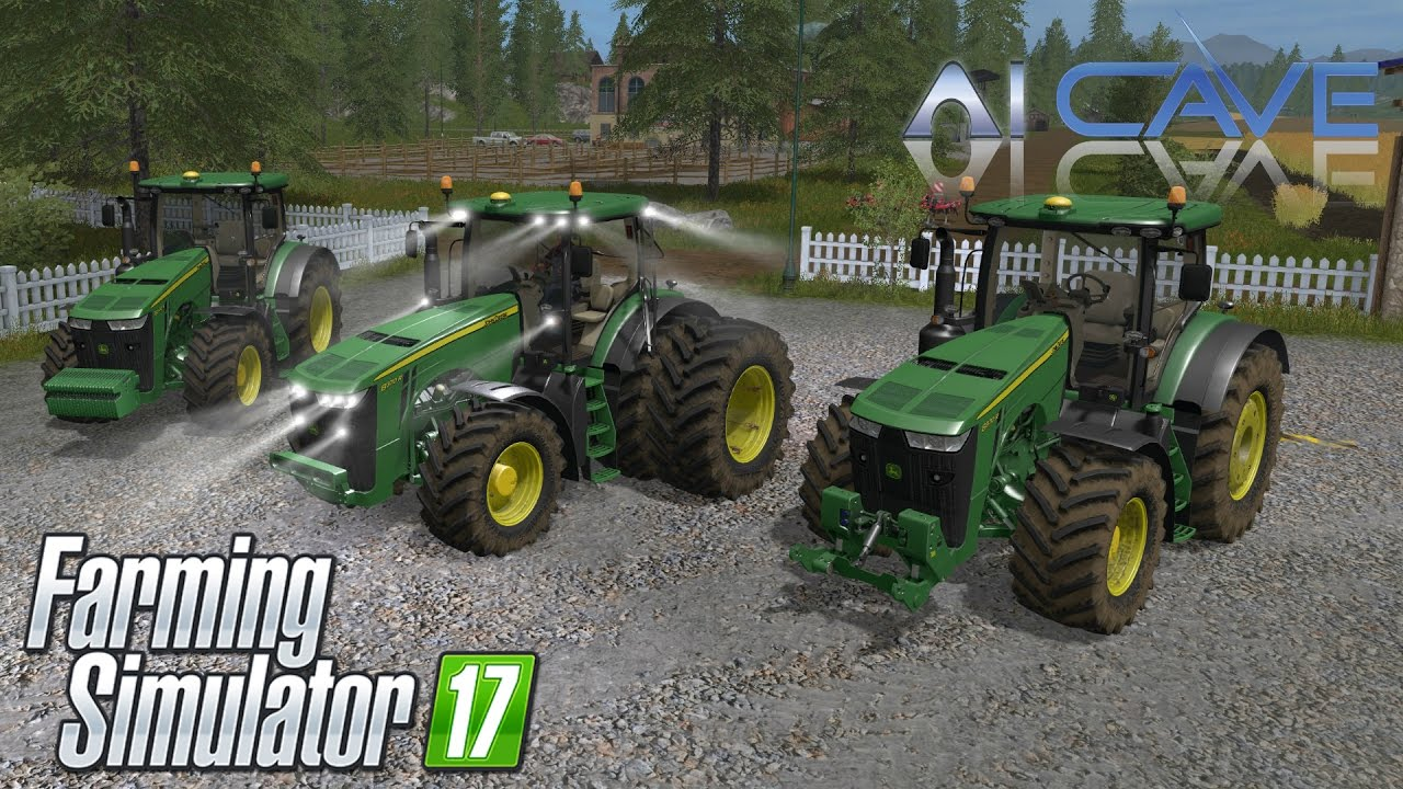 Farming Simulator 17 Mods - JOHN DEERE 8R Tractor Review