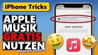 Apple Music KOSTENLOS nuтzen - bis zu 18 MONATE über Gratis-Codes 🤑