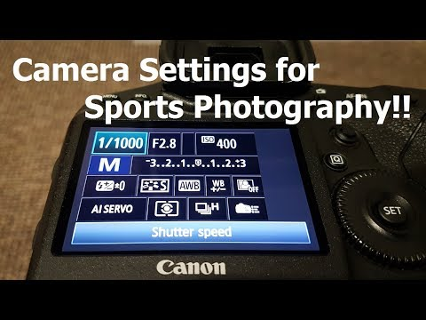 Camera Settings For Sports Photography Part 1