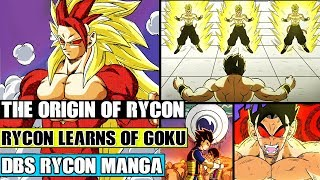 Beyond Dragon Ball Super The Origin Of Rycon! Rycon Learns Of Goku! Super Saiyan 4 Evolution Is Born