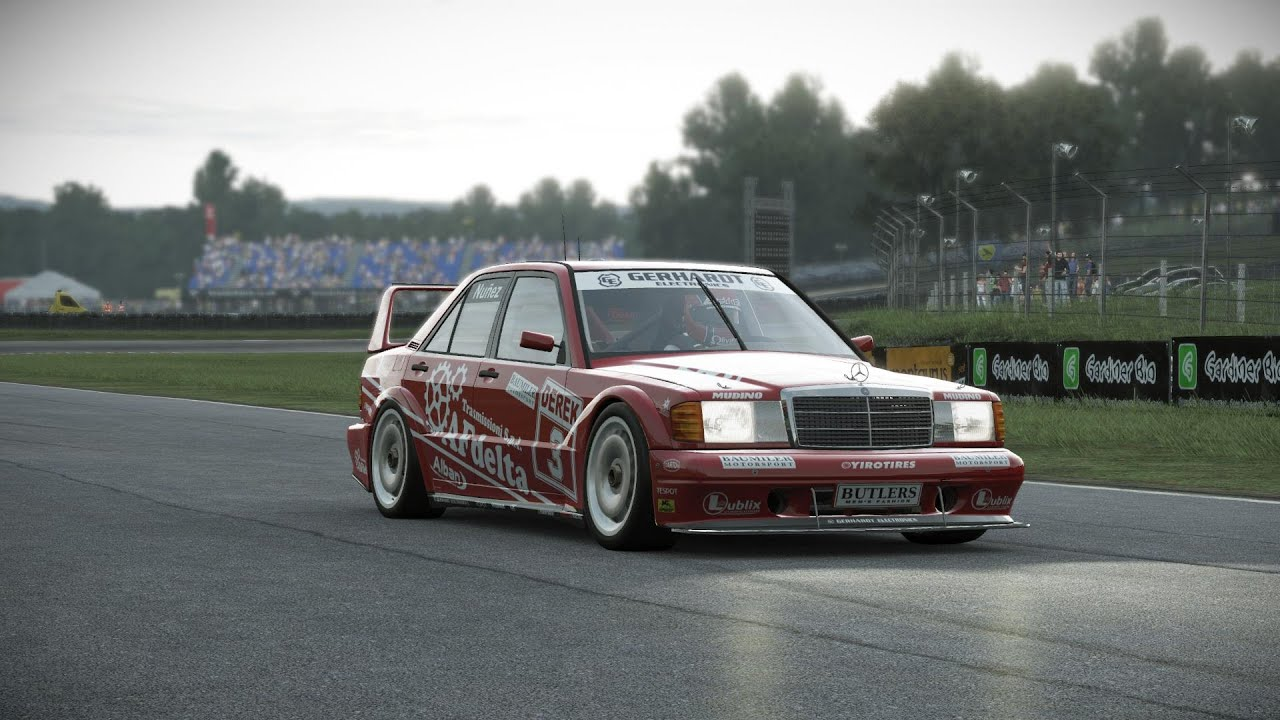 project cars build 900 mercedes benz 190e evo2 dtm in