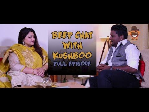 Beep Chat With Khushbu Sundar  | RJ Vignesh | Smile Settai