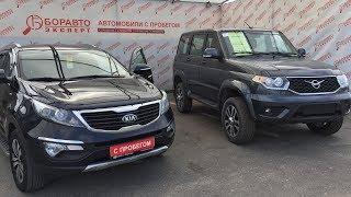 Миллион рублей: новый УАЗ Патриот или бэушный KIA Sportage??? Что лучше купить и для чего??