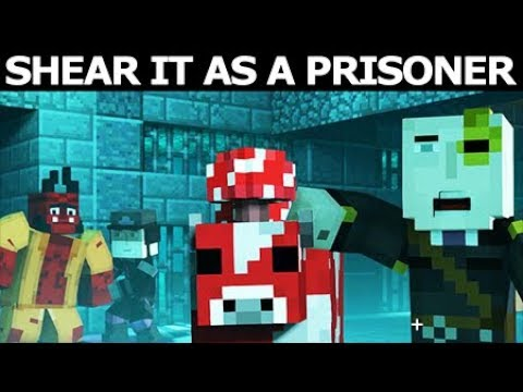 Prisoner Jesse Shears Geoff The Mooshroom - Minecraft Season 2 Episode 3: Jailhouse Block