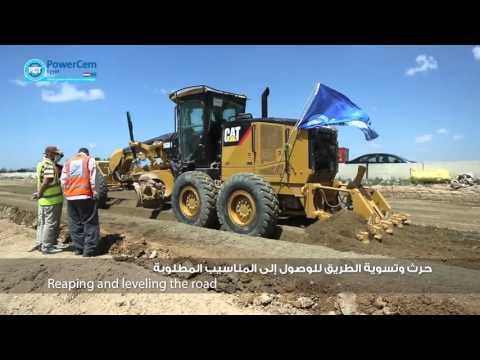 PowerCem Egypt - Alexandria Cairo Desert Road Project