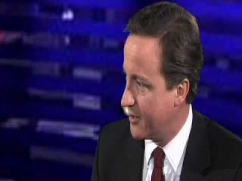 David Cameron talks to the Birmingham Post pt 1