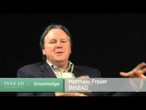 INSEAD Professor Soumitra Dutta and Snr Research Fellow Matthew Fraser on social networking