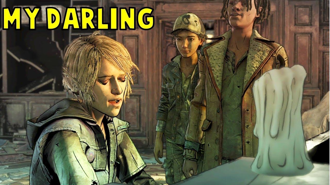 Violet Sings For Clementine And Makes Louis Jealous Gamemod The Walking Dead Final Season