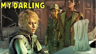 Violet Sings For Clementine and Makes Louis Jealous -GameMod- The Walking Dead Final Season
