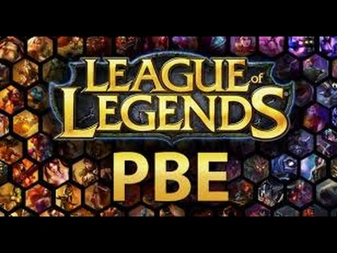 How to get onto the League of Legends PBE server - YouTube