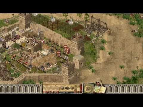 Stronghold Crusader - 7xWolf (Allied) vs SergiuHellDragoonHQ | Skirmish [Part 1/1080p/HD Patch]