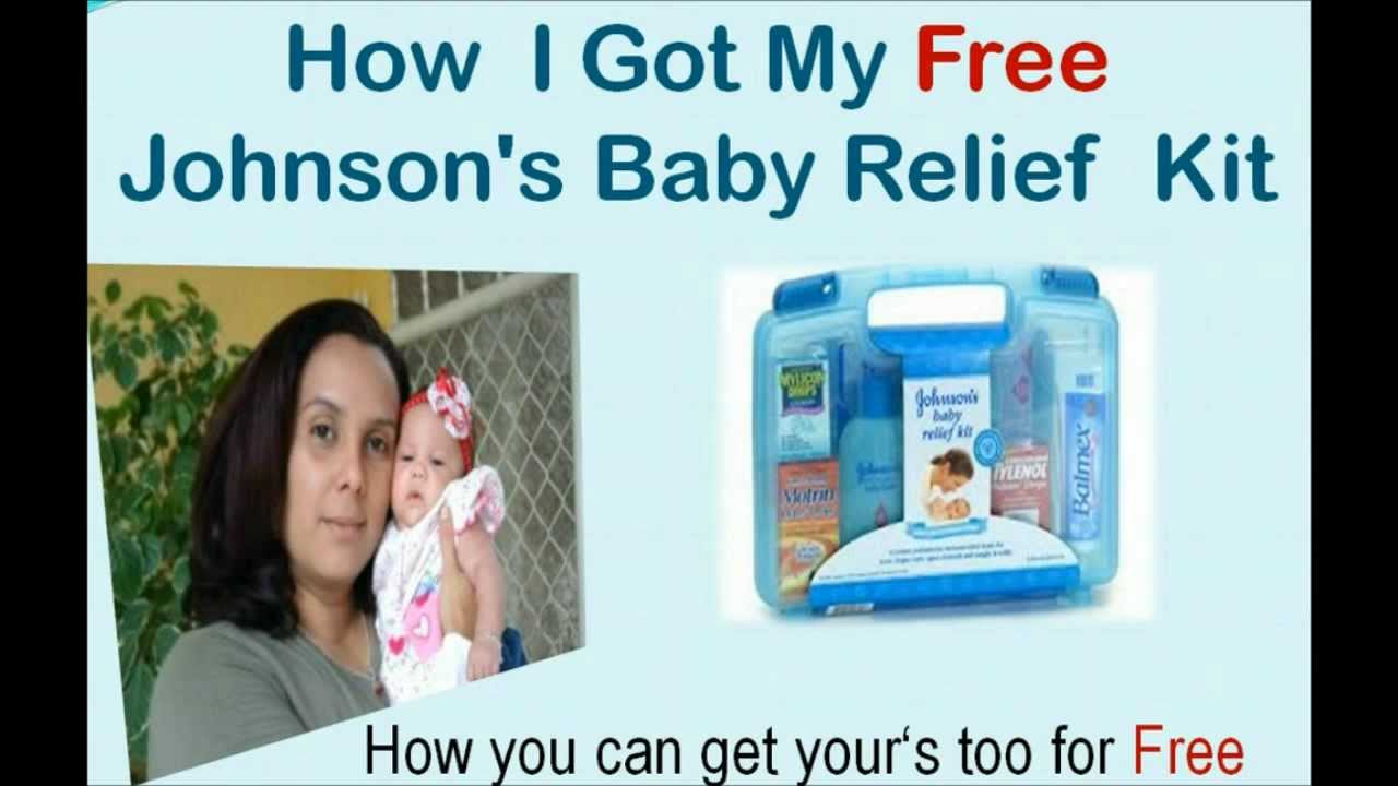 Johnson's Baby Relief Kit-Get a Free Johnson's Baby Relief ...