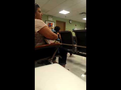 Woman Frantic in Hospital ER, Fights Security (Explicit Language)