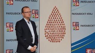 Perníkové kapky ozdobily letošní oceňování dárců krve