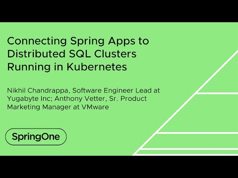 Connecting Spring Apps to Distributed SQL Clusters Running in Kubernetes