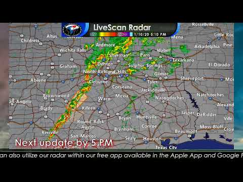 January 10, 2020 Severe Weather Coverage