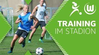 Letztes Training vor dem Finale! | DFB-Pokal | VfL Wolfsburg Frauen - FC Bayern München