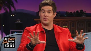 Adam Devine's Haircut Caused His Saint of a Mother to Curse