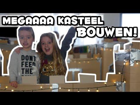BOXFORT KASTEEL BOUWEN !! - Broer en Zus TV VLOG #123