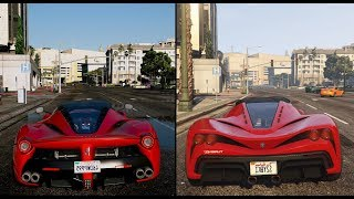► GTA V PS4 vs $10,000 Gaming PC! Comparison Ultra-Realistic GTA 6 Graphics 60 FPS ✪ NVR MOD!