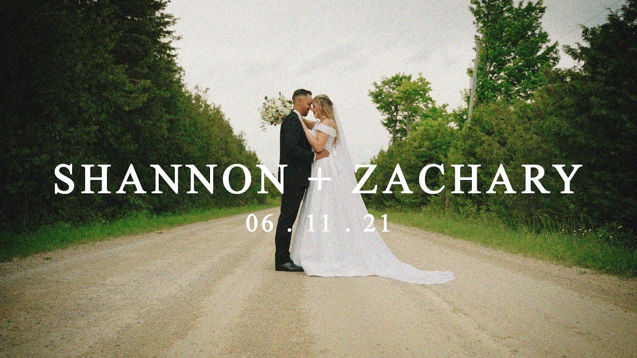 Shannon + Zachary | Cinematic Emotional 4K wedding film | A7SIII, MAvic Air 2S, A7III