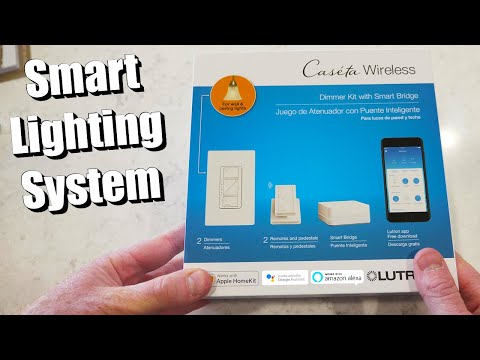 Lutron Caséta Wireless Dimmer/Fan Control Installation & Review