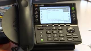 ShoreTel Tutorial: Voicemail