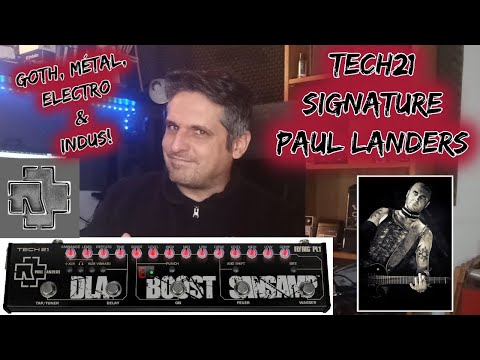 TEST : TECH21 PL1 Paul Landers Rammstein